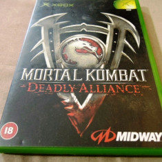Mortal Kombat Deadly Alliance, xbox classic, original! - Jocuri Xbox Altele, Sporturi, 3+, Multiplayer