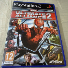 Joc Marvel Ultimate Alliance 2, PS2, original, ate sute de jocuri! - Jocuri PS2 Activision, Actiune, 12+, Single player