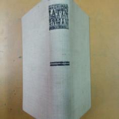 Latin - roman Gh. Gutu Bucuresti 1979 dictionar