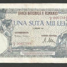 ROMANIA  100000  100.000 LEI  21  OCTOMBRIE  1946   [18]