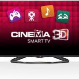 Televizor Smart 3D LED LG, 139cm, Full HD, 55LA660S - Televizor LED LG, Smart TV