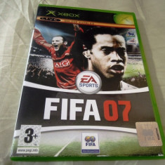 Fifa 07, xbox classic, original! - Jocuri Xbox Altele, Sporturi, 3+, Multiplayer