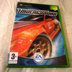 NFS, Need For Speed Underground, xbox classic, original! - Jocuri Xbox Ea Games, Sporturi, 3+, Multiplayer