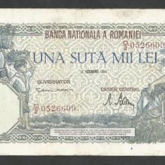 ROMANIA  100000  100.000 LEI  21  OCTOMBRIE  1946   [21]