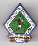 (9) INSIGNA  CAMPIONATELE NATIONALE DE ATLETISM R.P.R. 1954
