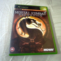 Mortal Kombat Deception, xbox classic, original! - Jocuri Xbox Altele, Sporturi, 3+, Multiplayer