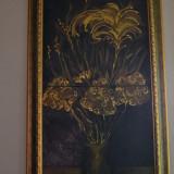 Natura moarta - Pictor roman, Flori, Ulei, Realism