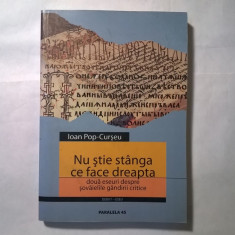 Ioan Pop-Curseu - Nu stie stanga ce face dreapta - Filosofie