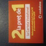 Cartele Vodafone (2in1) cu minute si internet - Cartela Vodafone