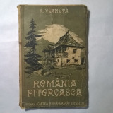 A. Vlahuta - Romania pitoreasca {1938} - Carte veche
