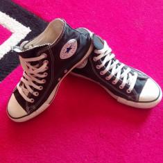 Converse All Star originali, high top, marimea 40-25, 5 cm. - Tenisi barbati Converse, Culoare: Negru, Textil