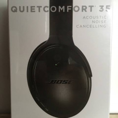 Bose QuietComfort 35 Bluetooth Wireless Noise Cancelling, Casti Over Ear