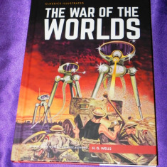 The war of the worlds razboiul lumilor classics illustrated H G Wells (f0610 - Reviste benzi desenate
