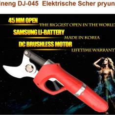 Foarfeca electrica de taiat crengi cu acumulator SUJINENG profesionala DJ-045
