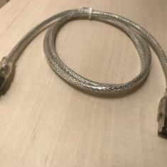 Cablu Firewire IEEE 1394 Mini 4Pin to Normal 6Pin - Cablu foto