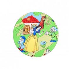 Lenjerie 3 Piese Alba Ca Zapada - Lenjerie pat copii BebeDeco