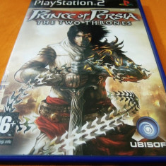 Joc Prince of Persia the Two Thrones, PS2, original, alte sute de jocuri! - Jocuri PS2 Ubisoft, Actiune, 12+, Single player