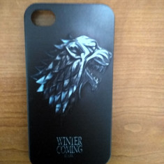 Husă/Case - Iphone 4/4s/5/5s - Game of Thrones/Urzeala Tronurilor- Noi - Husa Telefon, iPhone 5/5S/SE, Negru