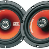 Set difuzoare coaxiale auto MTX Terminator 240 W 16,5 cm - TOR-TR654