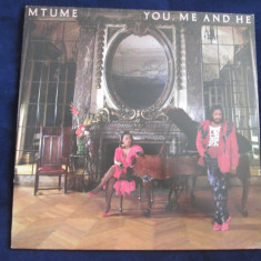 Mutume - you, me and he _ vinyl, LP, album, epic(olanda) - Muzica Dance epic, VINIL