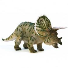 Dinozaur Triceratops, articulat 19 cm - Figurina Dinozauri