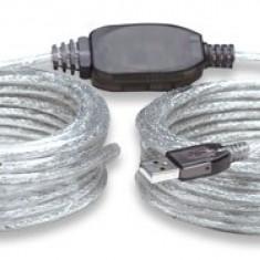 Cablu USB2.0 Manhattan 510424 - Cablu PC