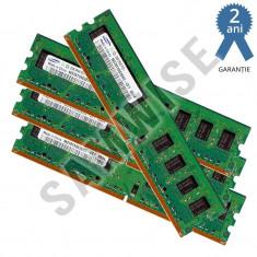KIT Memorie 4 x 1GB, Samsung, DDR2, 667MHz, PC-2 5300... GARANTIE 24 LUNI! - Memorie RAM Samsung, 4 GB, Dual channel