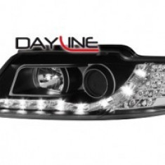 Faruri DAYLINE AUDI A4 8HE 02-05 negru SWA04ACGXBL - FDA44575