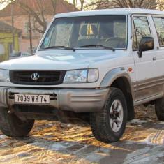 Mitsubishi Pajero ( Galloper ), 2.5 Turbo Diesel, an 2001, Motorina/Diesel, 1 km, 2416 cmc