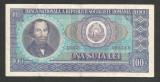 ROMANIA  100  LEI  1966   [10]  VF
