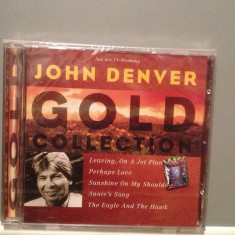 JOHN DENVER - GOLD COLLECTION (1997/BMG rec/Germany) - CD ORIGINAL/Sigilat/Nou - Muzica Country rca records