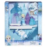 Jucarie Frozen Disney Little Kingdom Elsa's Frozen Castle - Papusa
