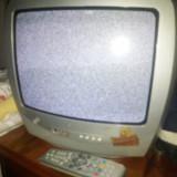 Tv mic color pentru camera copiilor cu telecomanda - Televizor CRT Sharp
