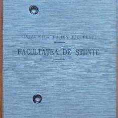 Carnet de student semnat de Dan Barbilian, alias poetul Ion Barbu, 1935 - Autograf
