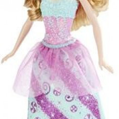 Papusa Barbie Fairy Rainbow Fashion Turquoise Hair Mattel