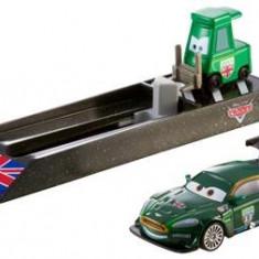 Masinuta Cars Pit Crew Launchers Nigel Gearsley Mattel