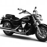 Motocicleta Yamaha XVS1300A Midnight Star UBS motorvip - MYX74394
