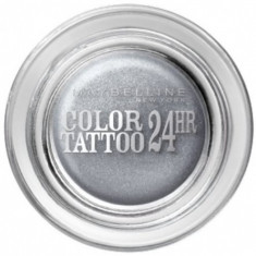In STOC! Fard maybelline color tattoo 24h - 050 Ethernal Silver - Sigilat - Fard pleoape