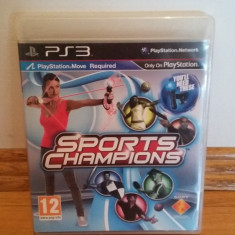 PS3 Sport Champions / Move obligatoriu - joc original by WADDER - Jocuri PS3 Sony, Sporturi, 12+, Multiplayer