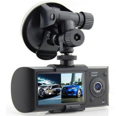 Camera video auto, Camera bord cu camera video dubla, Sensor gravitatie, localizare GPS, display 2.7 inch