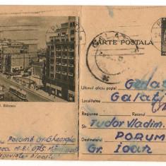 CPI (B8069) CARTE POSTALA - BUCURESTI. Bd. NICOLAE BALCESCU, TRAMVAI - Carte Postala Muntenia dupa 1918, Circulata, Fotografie