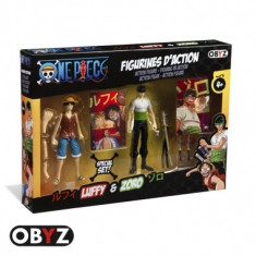 Set 2 figurine One Piece, Luffy & Zoro, 12 cm