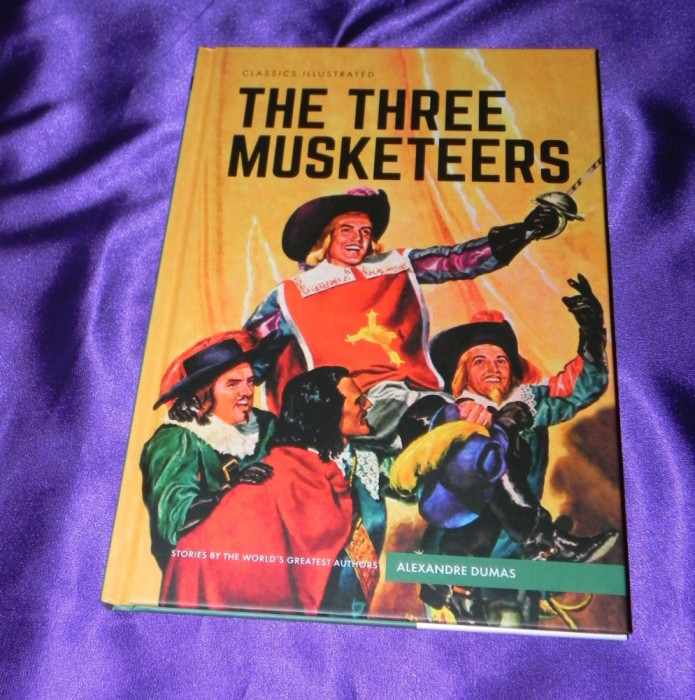 Cei 3 trei muschetari benzi desenate engleza classics illustrated (f0625 foto mare