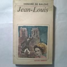 Honore de Balzac – Jean-Louis - Roman