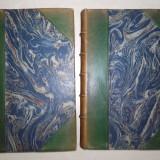 STENDHAL-  LE ROUGE ET LE NOIR, 1925 , LOT DOUA VOLUME,LEGATURA DE EPOCA