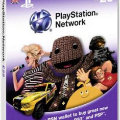 Playstation Network Card 25 Lire - DVD Playere Sony