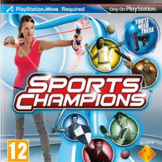 Sports Champions (Move) Ps3 - DVD Playere Sony
