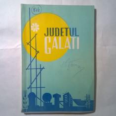 Judetul Galati - Carte Geografie