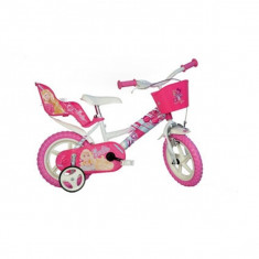 Bicicleta Barbie 12 - Dino Bikes - HPB-DN126RL-BA
