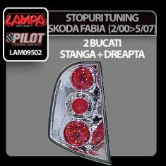 Stopuri tuning Skoda Fabia (2/00-5/07) - Cromate - STSF539